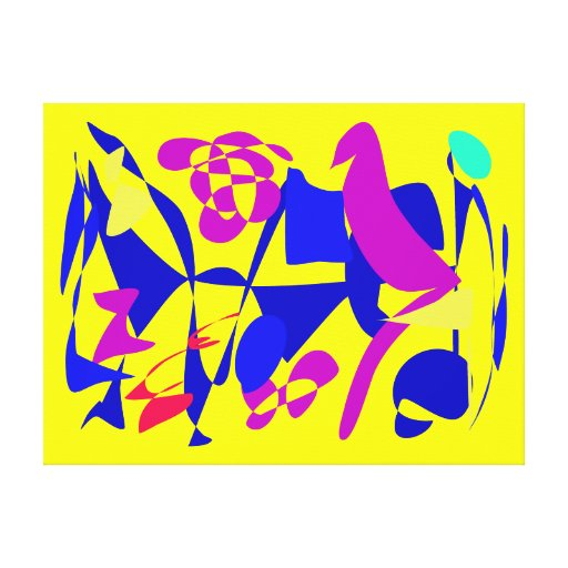 Bright Stretched Canvas Prints