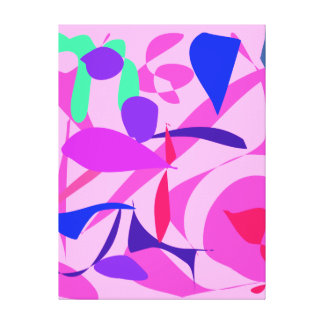 Bright Gallery Wrapped Canvas
