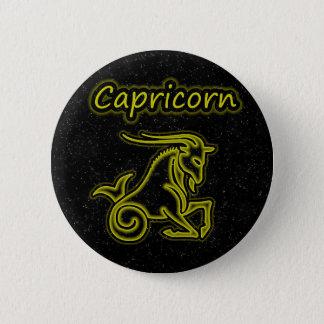 Bright Capricorn 6 Cm Round Badge