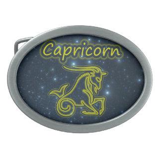 Bright Capricorn Belt Buckle