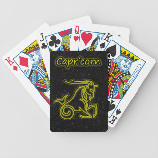 Bright Capricorn Bicycle Playing Cards
