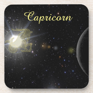 Bright Capricorn Coaster