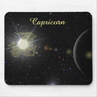 Bright Capricorn Mouse Pad