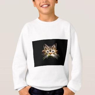 Bright cat sweatshirt