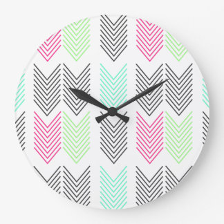 Bright & Cheery Arrows Wall Clock