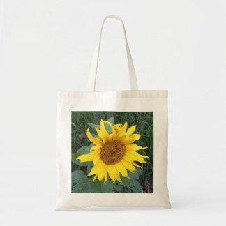 Bright Cheery Yellow Sunflower Budget Tote Bag
