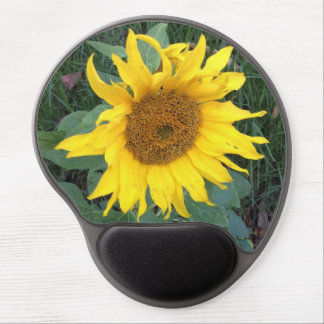 Bright Cheery Yellow Sunflower Gel Mouse Pad