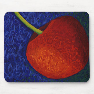 Bright Cherry Mouse Pad