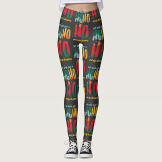 BRIGHT CHRISTMAS/ALT COLOR WAY LEGGINGS
