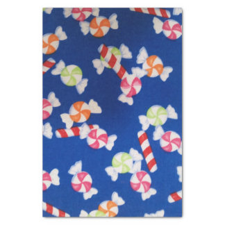 Bright Christmas Candy Tissue Paper