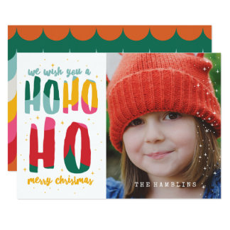 BRIGHT CHRISTMAS (RIGHT HAND IMAGE) CARD