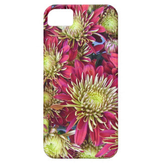Bright chrysanthemums pattern case for the iPhone 5