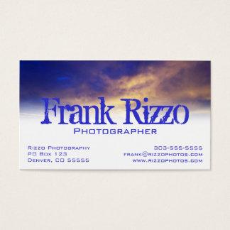 Bright Clouds Profile Card