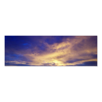 Bright Clouds Profile Card Business Cards