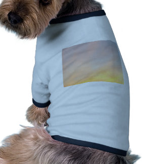 """BRIGHT CLOUDS SUNRISE BLUE AND YELL DOGGIE TSHIRT"