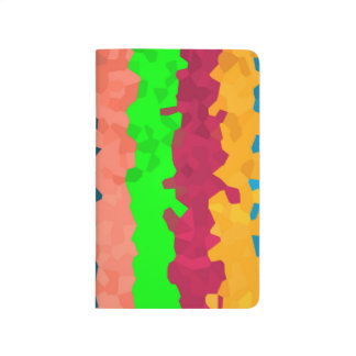 Bright Color Lines Abstract Background Journal