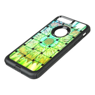 Bright Color Woven Mandala Floral Pattern design OtterBox Commuter iPhone 8 Plus/7 Plus Case