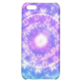 Bright colored abstract pattern cover for iPhone 5C