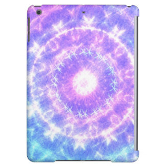 Bright colored abstract pattern iPad air cover
