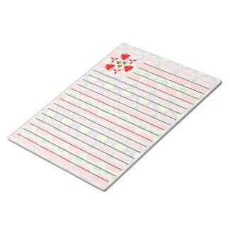 Bright colored art notepad
