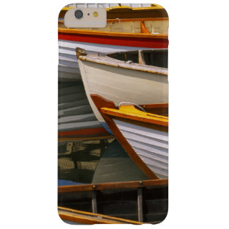 Bright colored boats at the Wooden Boat Center Barely There iPhone 6 Plus Case