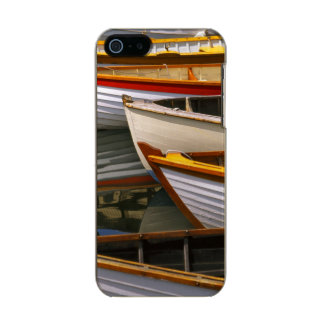 Bright colored boats at the Wooden Boat Center Incipio Feather® Shine iPhone 5 Case