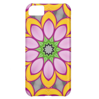 Bright colored flower iPhone 5C case