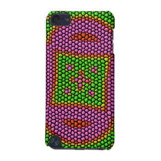 Bright colored mosaic tile iPod touch 5G covers