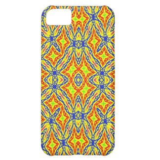 Bright colored pattern iPhone 5C case