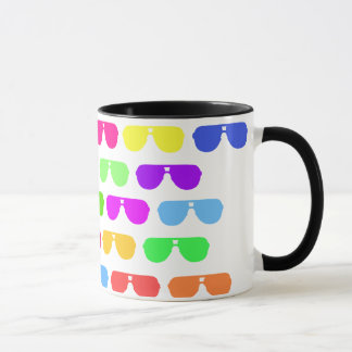 Bright Colored Summer Sunglasses Mug