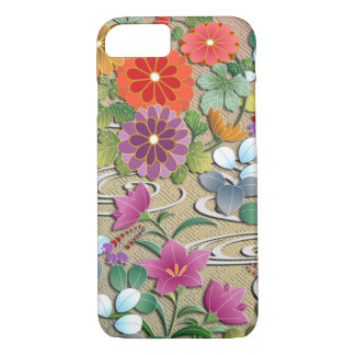 Bright colorful autumn flowers iPhone 8/7 case
