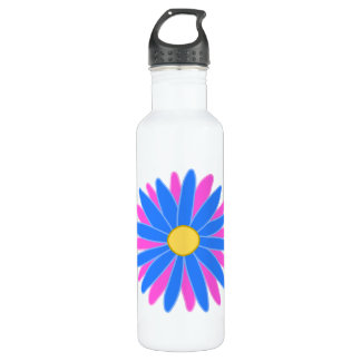 Bright Colorful Flower. 710 Ml Water Bottle