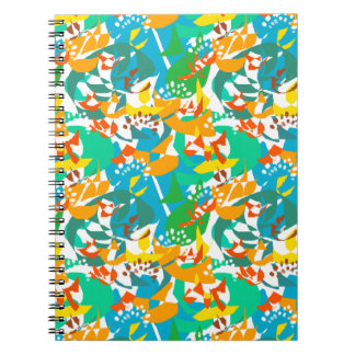 Bright Colorful Foliage Leaves Spring Autumn Fall Notebooks