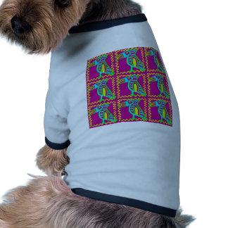 Bright Colorful Fun Toucan Tropical Bird Pattern Pet Clothes