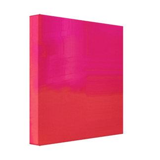 Bright Colorful Glitch Texture Canvas Print