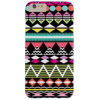 Bright Colorful Party Aztec Pattern Barely There iPhone 6 Plus Case