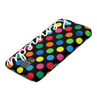 Bright Colorful Polka Dots Galaxy S5 Cover