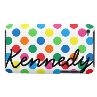 Bright Colorful Polka Dots iPod Case-Mate Cases