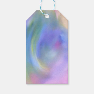 Bright Colorful Rainbow Abstract Pattern Gift Tags