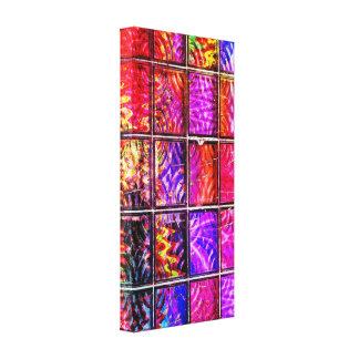 bright colorful squares canvas prints