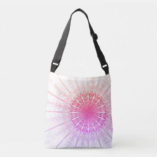 Bright Colorful Sunset Crossbody Bag