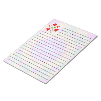 Bright Colorful trendy pattern Notepad