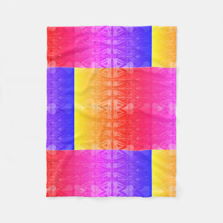 Bright Colorful Tribal Pattern Blanket