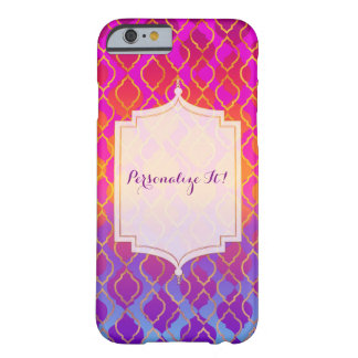 Bright Colors Arabian Moroccan Glam Indian Custom Barely There iPhone 6 Case