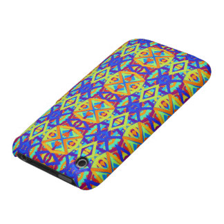 Bright Colors Fun Pattern iPhone 3 Cases