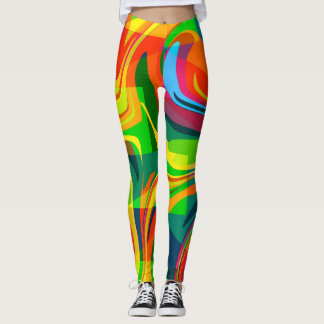 Bright colors leggings
