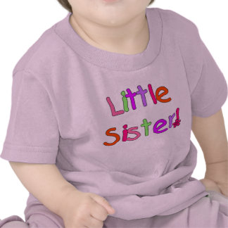 Bright Colors Little Sister Tee Shirt