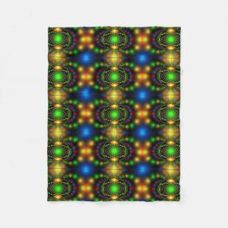 Bright Colors Mystical Fleece Blanket