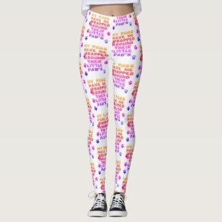 bright colors on leggings
