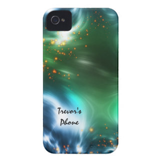 Bright Colors Space Stars Blackberry Phone Case iPhone 4 Cover